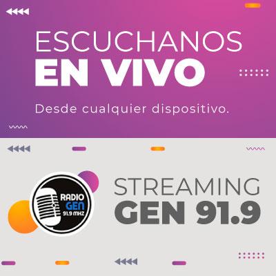 Escuchar Streaming en vivo Radio Gen
